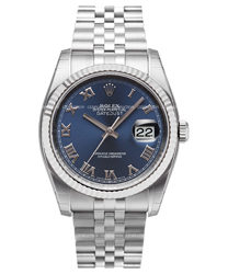 Rolex Datejust Mens Wristwatch Model: 116234BUR