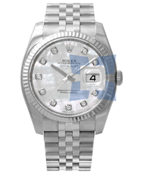 Rolex Datejust Mens Wristwatch Model: 116234WGMD