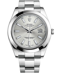 Rolex Datejust Men's Watch Model 116300-0007-SLSTK