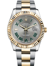 Rolex Datejust Men's Watch Model 116333-SILGRN