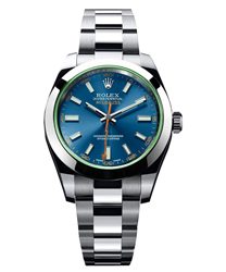 Rolex Milgauss Men's Watch Model: 116400-GV-BLU