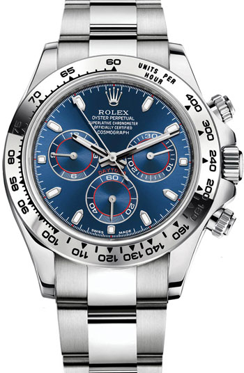Rolex Daytona Men's Watch Model 116509-BLUE