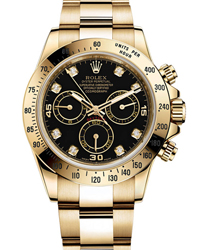 Rolex Daytona Men's Watch Model 116528-BLKDIA