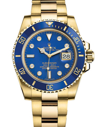 Rolex Submariner Men's Watch Model 116618LB-BLUDIA