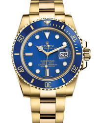 Rolex Submariner Men's Watch Model: 116618LB-BLU