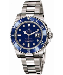 Rolex Submariner Men's Watch Model: 116619LB-BLUDIA
