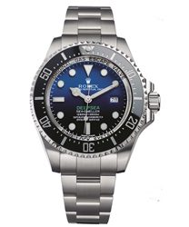 Rolex Sea-Dweller Mens Watch Model 116660-DBLUE