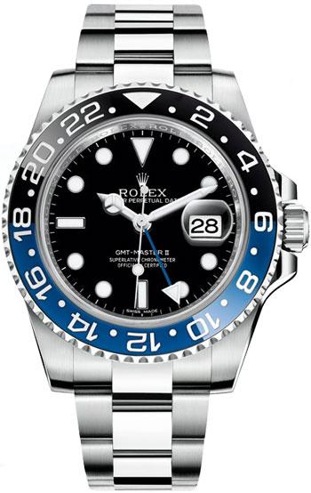 3d20856dfdc Rolex GMT Master II Men s Watch Model  116710BLNR