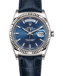 Rolex Day-Date President Men's Watch Model 118139-BLU Thumbnail 1