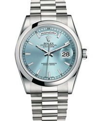 Rolex Day-Date President Men's Watch Model 118206-GLR