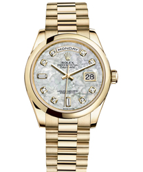 Rolex Day-Date Men's Watch Model 118208-0061