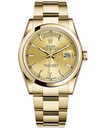 Rolex Day-Date Men's Watch Model: 118208-CHASTI