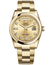 Rolex Day-Date Men's Watch Model: 118208-CHDIABAG