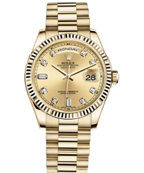 Rolex Day-Date Men's Watch Model 118238-0116