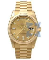 Rolex President Mens Wristwatch Model: 118238YGCD