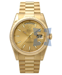 Rolex President Mens Wristwatch Model: 118238YGCS