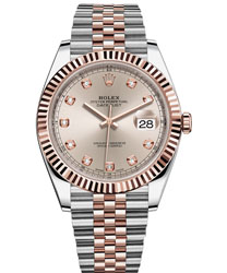 Rolex Datejust Men's Watch Model 126331-SILVDIA