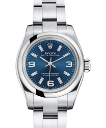 Rolex Oyster Perpetual Ladies Watch Model: 176200-BLUE