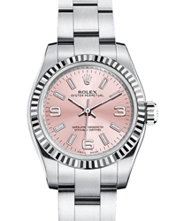 Rolex Oyster Perpetual Ladies Watch Model 176234-Pink
