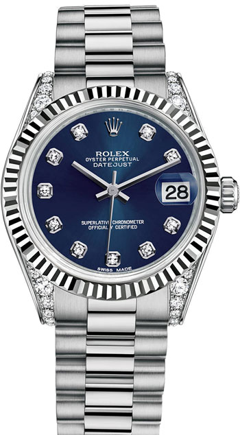 Rolex Datejust Ladies Watch Model 178239-BLUDIA
