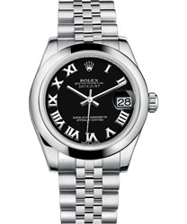 Rolex Datejust Ladies Watch Model 178240-BLACK-ROM