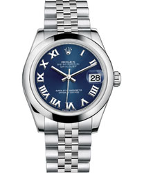 Rolex Datejust Ladies Watch Model 178240-BLUE-ROM Thumbnail 1