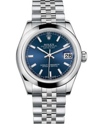 Rolex Datejust Ladies Watch Model 178240-BLUE-STI