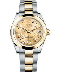 Rolex Datejust Ladies Watch Model 178243-YEFLO