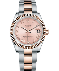 Rolex Datejust Ladies Watch Model 178271-72161-PINKRO