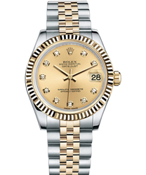Rolex Datejust Ladies Watch Model 178273 -GLDDIA