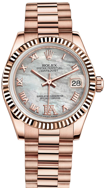 Rolex Datejust Ladies Watch Model 178275-MOPDIA