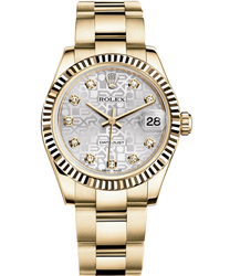Rolex Datejust Ladies Watch Model 178278 -GLDDIA