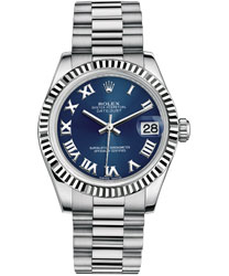 Rolex Datejust Ladies Watch Model 178279-BLUE-ROMAN