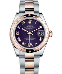 Rolex Datejust Ladies Watch Model 178341-PURP