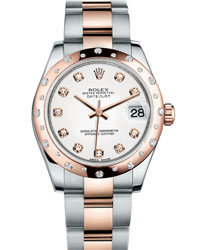 Rolex Datejust Ladies Watch Model 178341-WHITEDIA