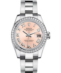 Rolex Datejust Ladies Watch Model 179384-PINKRO