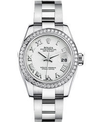 Rolex Datejust Ladies Watch Model 179384-SILRO