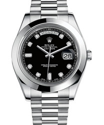 Rolex Day-Date II President Mens Watch Model 218206-0020