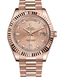 Rolex Day-Date II President Mens Watch Model 218235-0008