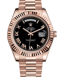 Rolex Day-Date II President Mens Watch Model 218235-0034