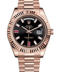 Rolex Day-Date II President Mens Watch Model 218235-0052