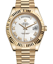 Rolex Day-Date II President Mens Watch Model 218238-0037