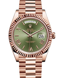 Rolex Day-Date Men's Watch Model: 228235-GREENRO