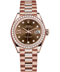 Rolex Datejust Ladies Watch Model 279135RBR