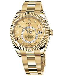 Rolex Sky Dweller Mens Wristwatch