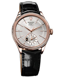Rolex Cellini Dual Time   Model: 50525-SIL-BS