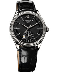 Rolex Cellini Dual Time Men's Watch Model: 50529-BL-BL