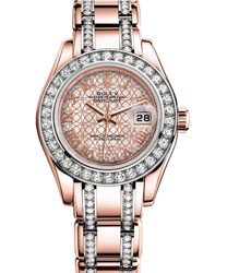 Rolex Pearlmaster Ladies Watch Model: 80285-0006