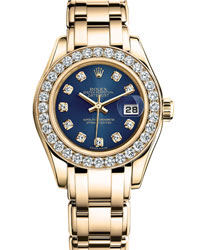 Rolex Pearlmaster Ladies Watch Model 80298-0124