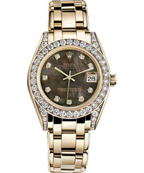 Rolex Pearlmaster Ladies Watch Model 81158